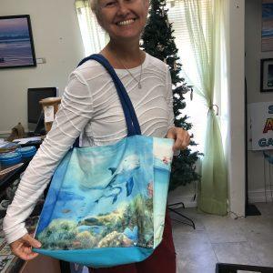 A Sea life love bag