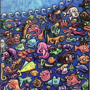 Reef Party Giclee